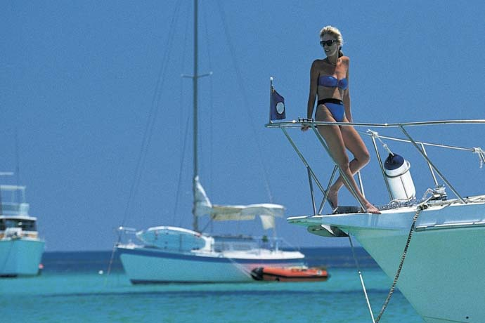 Holiday at Rottnest on a chartered boat